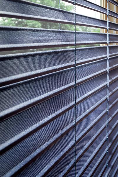 beautiful fabric blinds