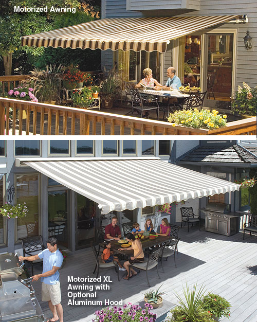 motorized-XL-Sunsetter-Awning installed San Antonio SunSetter Dealer